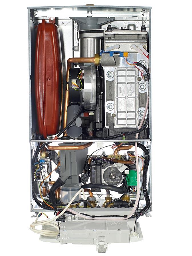Boiler Servicing Inside View