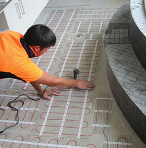 Wet Underfloor Heating Pipe - Sectioned