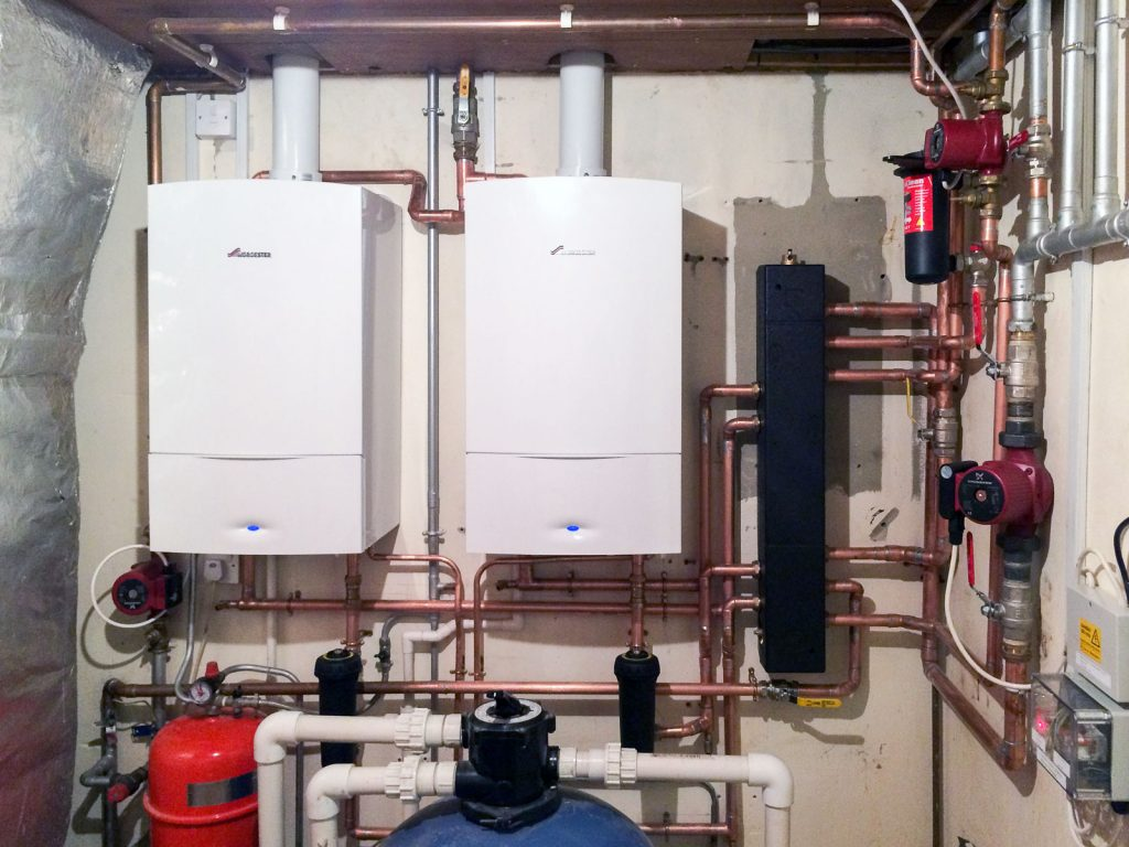 Biggs Heat Technologies - Boiler Installation covers in place