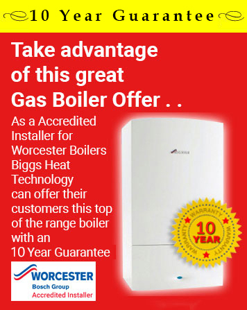 10 Year Worchester Boiler Guarantee