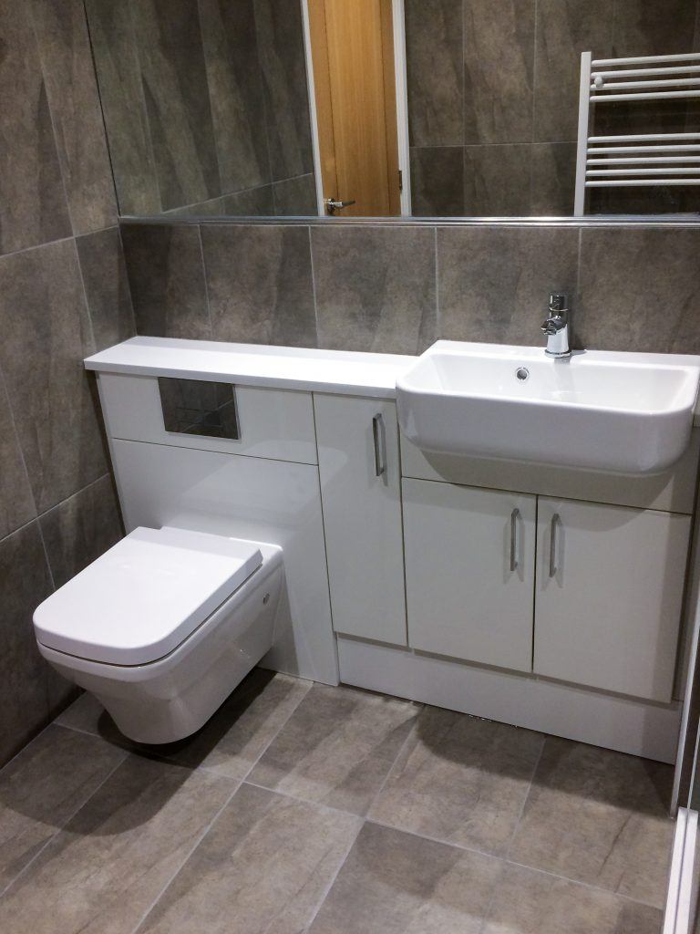 After Canford Cliffs Bathroom Refurbishment