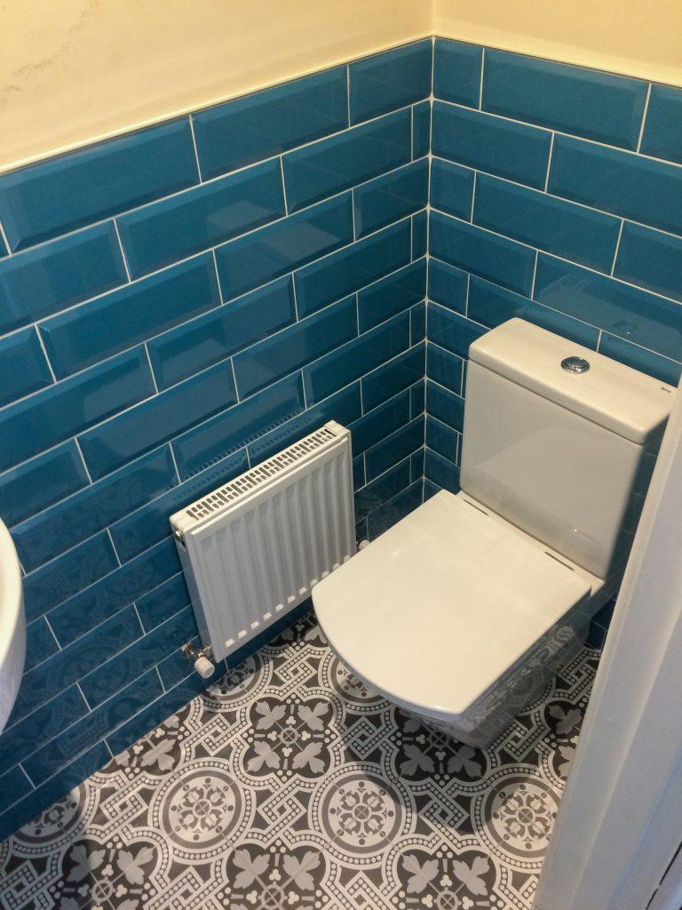 Contemporary Cloakroom After Biggs Heat Technologies refurbishment