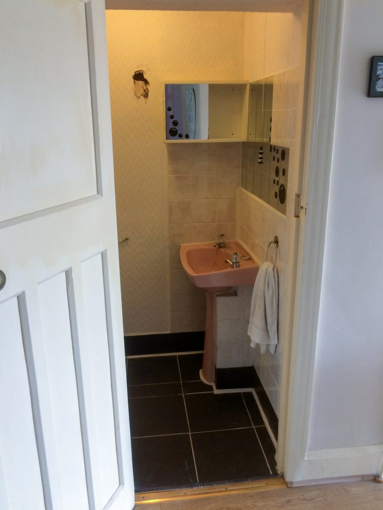 Before Lascelles Complete Bathroom Refurbishment
