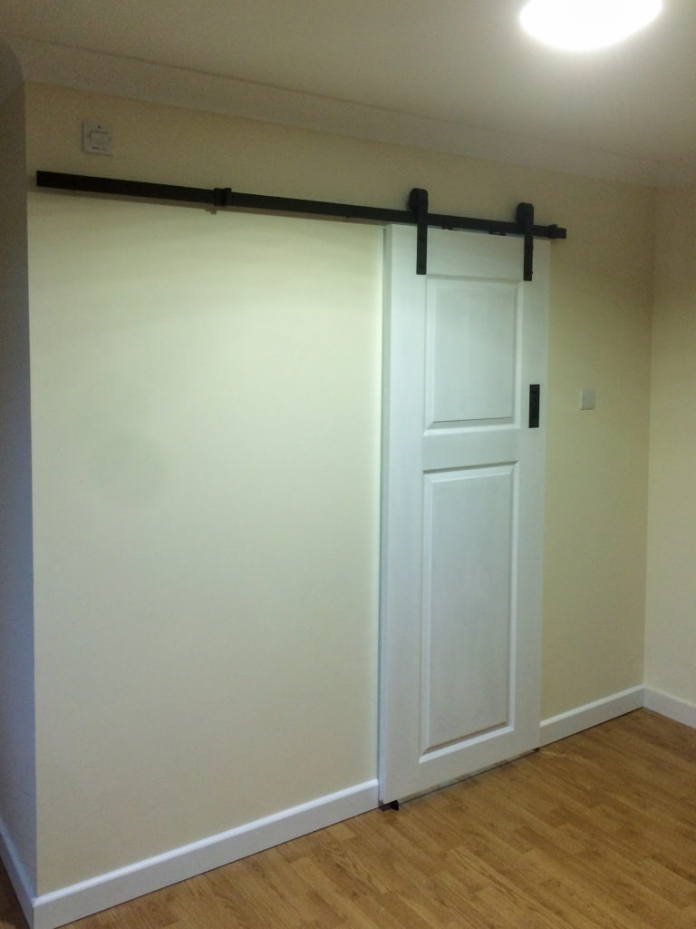 New wall and door (Closed)