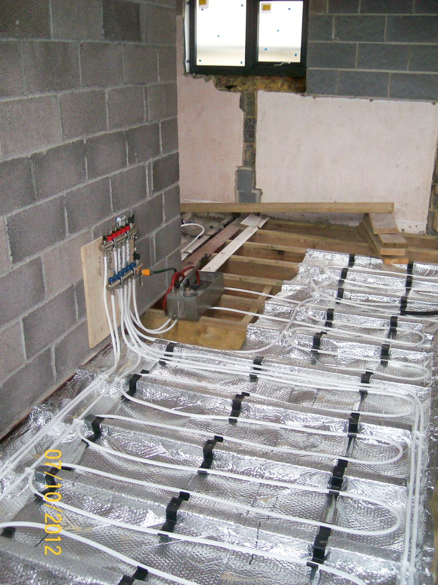 Underfloor Heating Install Repair And Servicing Biggs